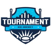 Tournament Ice Hockey logo template 02 Thumbnail