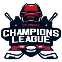 Champions League Ice Hockey logo template Thumbnail