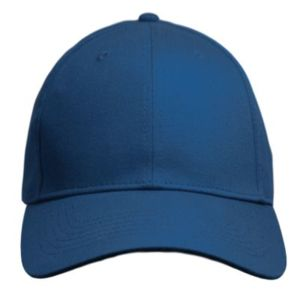 Curved Bill Adjustable Velcro Back Hat. 6-Panel Structured Twill. Thumbnail
