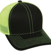 Outdoor Cap Cotton Twill Mesh Back Cap Hook/Loop Tape Closure Thumbnail