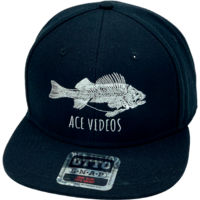 Ace Videos Fish Flatbill Snapback Hat Thumbnail
