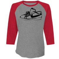 Next Level Unisex Tri-Blend 3/4-Sleeve Raglan Thumbnail